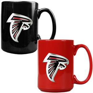 NFL Atlanta Falcons Multi Color Mug Set