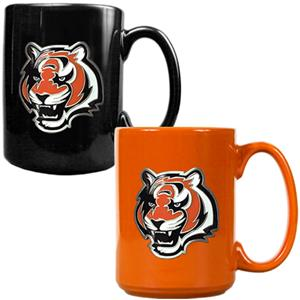 NFL Cincinnati Bengals Multi Color Mug Set