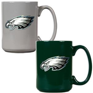 NFL Philadelphia Eagles Multi Color Mug Set