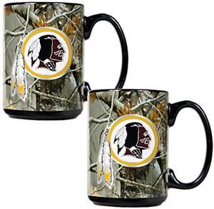 NFL Washington Redskins Open Field Coffee Mug Set