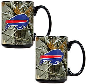 NFL Buffalo Bills 2pc Open Field Coffee Mug Set