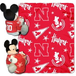 Northwest NCAA Nebraska Huskers Hugger Throws