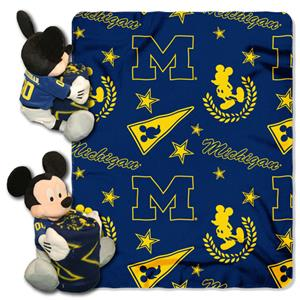 Northwest NCAA Michigan Wolverines Hugger Throws