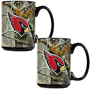 NFL Arizona Cardinals Open Field Coffee Mug Set