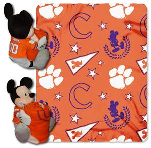 Northwest NCAA Clemson Tigers Hugger Throws
