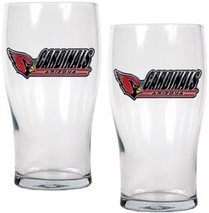 NFL Arizona Cardinals 20 oz Pub Glass Set
