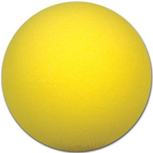 "Champro Sports 6"" Uncoated Yellow Foam Ball"