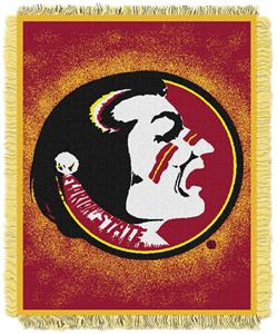 Northwest NCAA Florida Seminoles Jacquard Throws