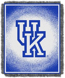 Northwest NCAA Kentucky Wildcats Jacquard Throws