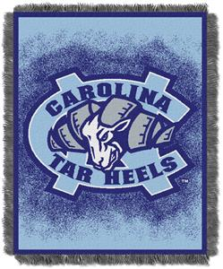 Northwest NCAA UNC Tar Heels Jacquard Throws