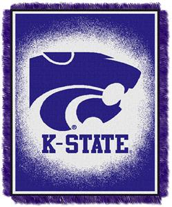 Northwest NCAA K-State Wildcats Jacquard Throws