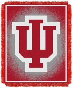 Northwest NCAA Indiana Hoosiers Jacquard Throws