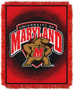 Northwest NCAA Maryland Terrapins Jacquard Throws