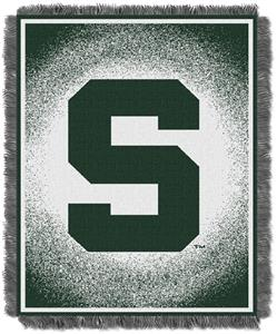 Northwest NCAA Michigan State Jacquard Throws