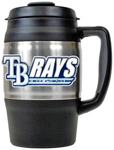 MLB Tampa Bay Rays Large Heavy Duty Travel Mug