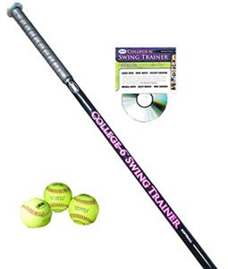 JUGS College-6 Softball Swing Trainer Package