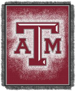 Northwest NCAA Texas A&M Jacquard Throws