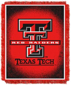 Northwest NCAA Texas Tech Jacquard Throws