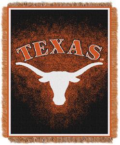Northwest NCAA Texas Longhorns Jacquard Throws