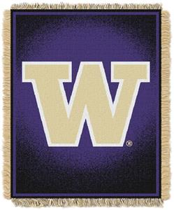 Northwest NCAA Washington Huskies Jacquard Throws