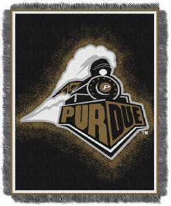 Northwest NCAA Purdue Boilermakers Jacquard Throws