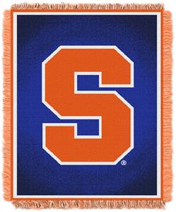 Northwest NCAA Syracuse University Jacquard Throws