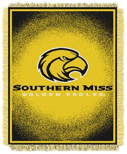 Northwest NCAA Southern Mississippi Jacquard Throw