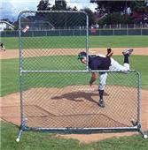 JUGS Travel Ball Quick-Snap Pitchers L-Screen