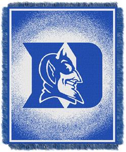 Northwest NCAA Duke University Jacquard Throw