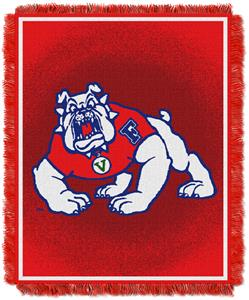 Northwest NCAA Fresno State Jacquard Throws