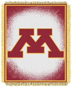 Northwest NCAA Minnesota Jacquard Throws