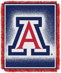 Northwest NCAA Arizona Wildcats Jacquard Throws