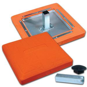 Champro Pro Style Molded Optic Orange Safety Base