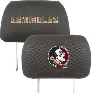 Fan Mats Florida State University Head Rest Covers