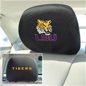 Fan Mats LSU Tigers Head Rest Covers