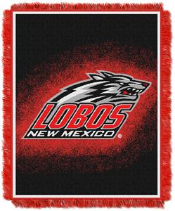 Northwest NCAA New Mexico Lobos Jacquard Throws