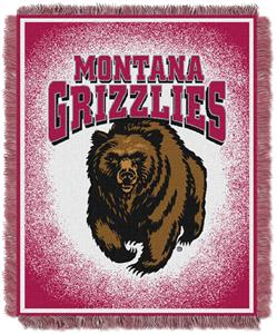 Northwest NCAA Montana Grizzlies Jacquard Throws