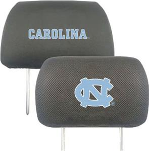 Fan Mats Univ. of North Carolina Head Rest Covers