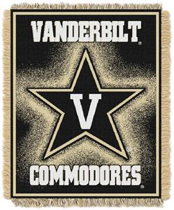 Northwest NCAA Vanderbilt Jacquard Throws