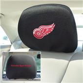 Fan Mats NHL Detroit Red Wings Head Rest Covers