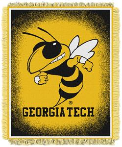 Northwest NCAA Georgia Tech Jacquard Throws