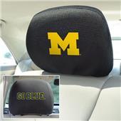 Fan Mats University of Michigan Head Rest Covers