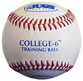 JUGS College-6 Small Soft Training Leather Balls