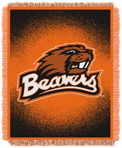 Northwest NCAA Oregon State Jacquard Throws