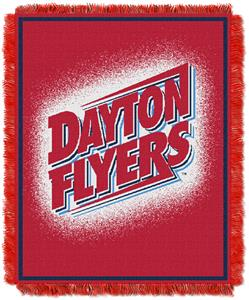 Northwest NCAA Dayton Flyers Jacquard Throws