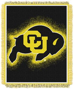 Northwest NCAA Colorado Buffaloes Jacquard Throws