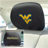 Fan Mats West Virginia University Head Rest Covers