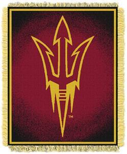 Northwest NCAA Arizona State Jacquard Throws