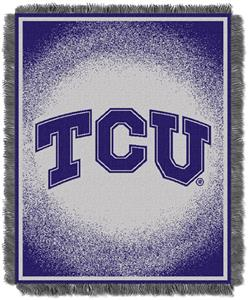 Northwest NCAA TCU Horned Frogs Jacquard Throws
