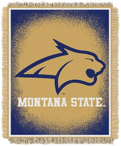 Northwest NCAA Montana State Jacquard Throws